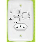 Chave Controle Ventilador com Tomada Bivolt Venti Delta