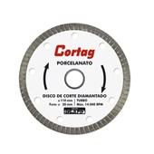 Disco Corte Diamantado a Seco para Porcelanato 110mm Cortag