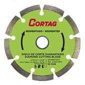 Disco Corte Diamantado Segmentado 110 x 20 mm Cortag