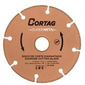 Disco Corte Diamantado Super Metal 115 x 22 mm Cortag