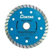 Disco de Corte Diamantado Turbo Cortag