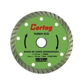 Disco de Corte Diamantado Turbo Eco 110mm Cortag
