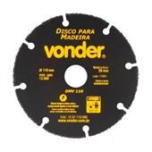 Disco de Corte para Madeira 110 mm Borda Segmentada Vonder