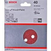 Kit Disco Velcro Expert For Wood com 5 Disco - Bosch