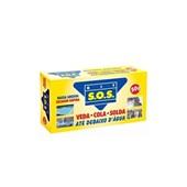 Massa Adesiva Cola Epóxi Secagem Rápida Kit SOS 50g Vedatudo
